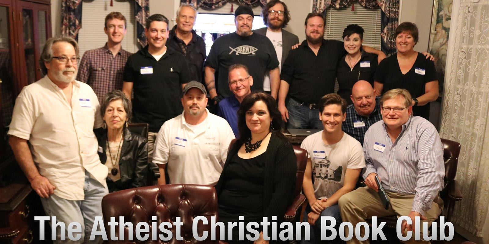 Photo of the Atheist Christian Book Club