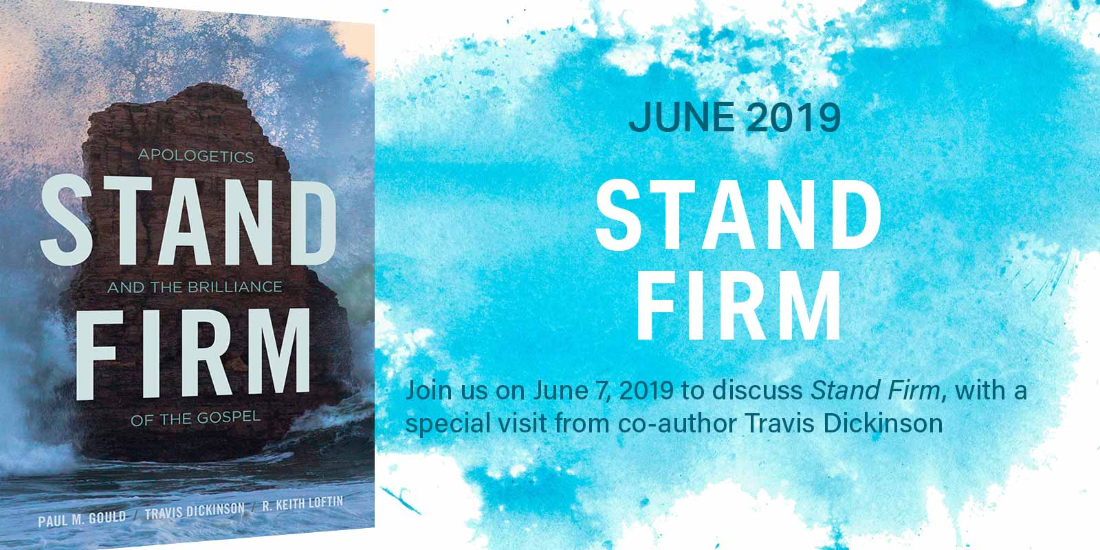 Join us on 6/7/19 to discuss Stand Firm