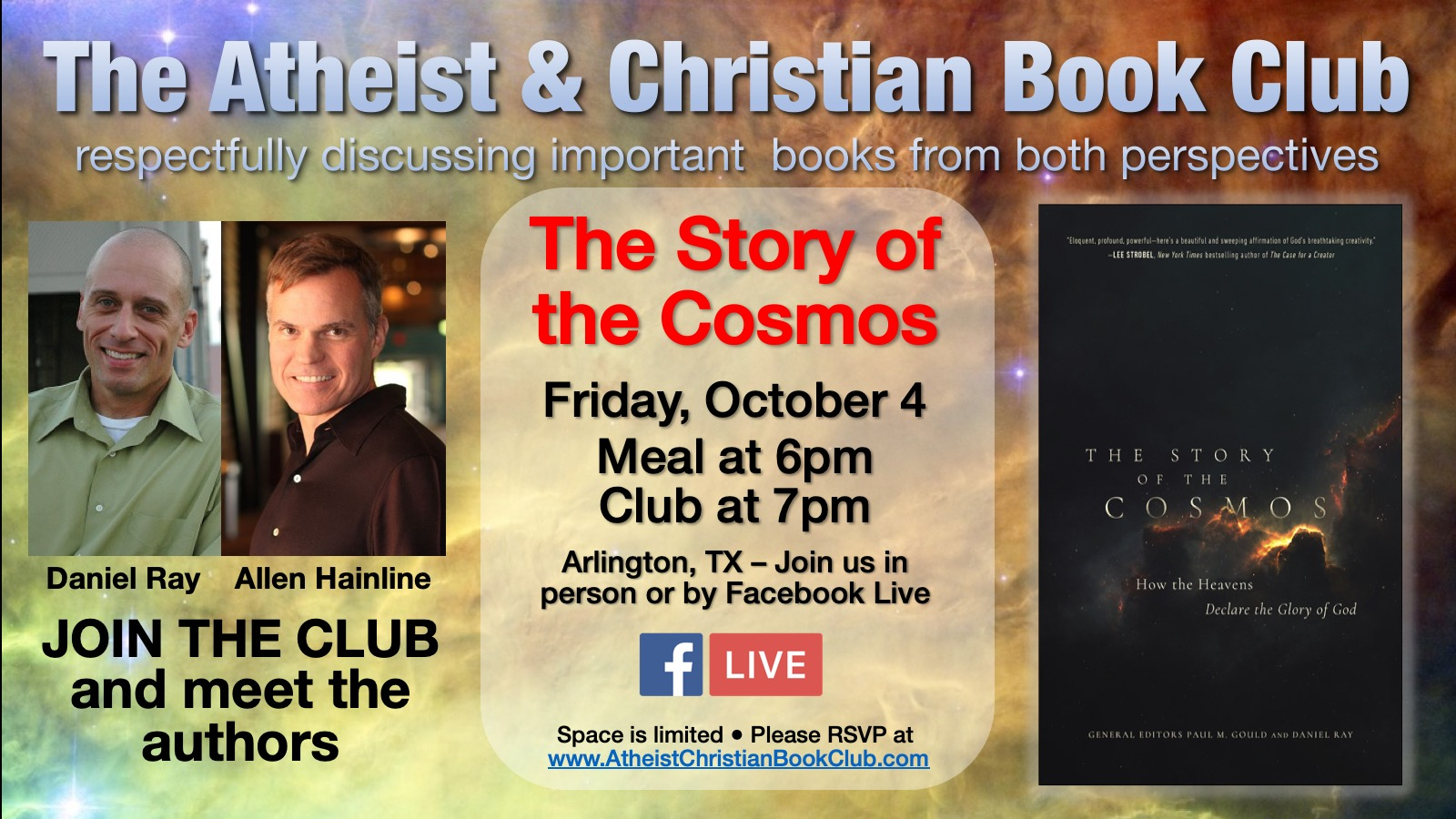 Atheist & Christian Book Club 9/6/2019